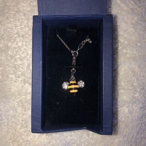 Swarovski Crystal Bee Necklace